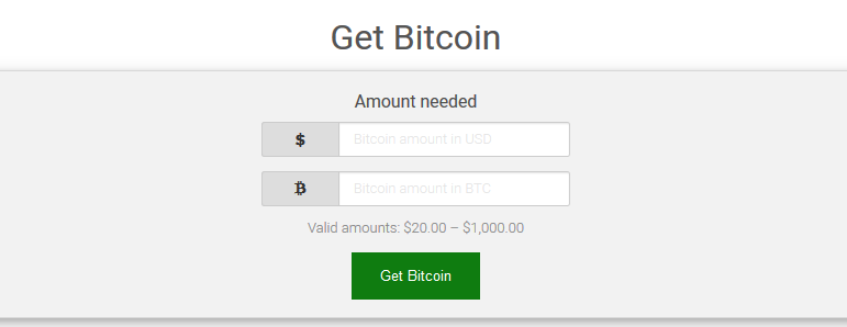 Get Bitcoin on XCoins